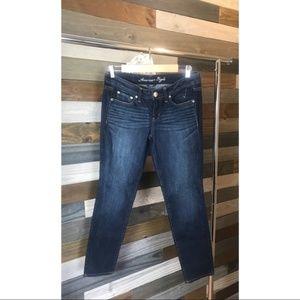 American Eagle Super Skinny Jeans 8 Short NWOT